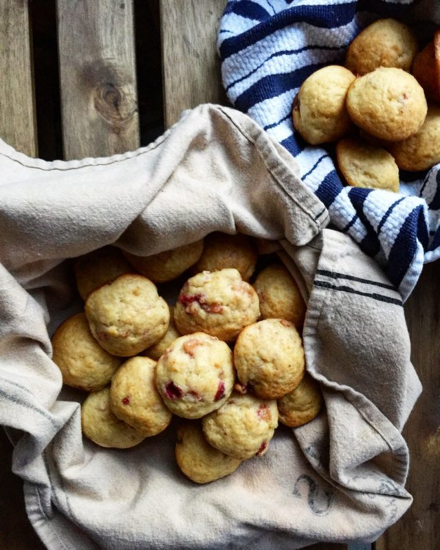 Apple Cranberry Muffins | In Jennie's Kitchen