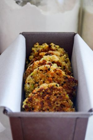 Broccoli & Quinoa Cakes | In Jennie's Kitchen