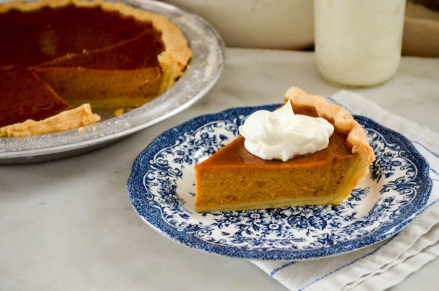 Honey Pumpkin Pie | In Jennie's Kitchen