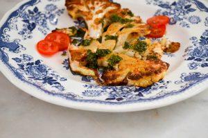 Roasted Cauliflower Steaks | In Jennie's Kitchen