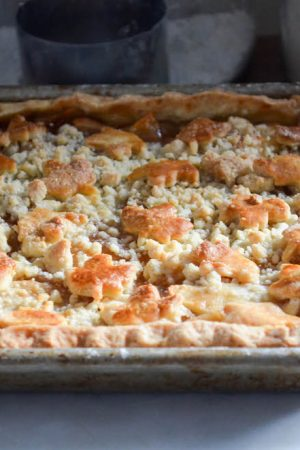 Apple Crumb Slap Pie | In Jennie's Kitchen