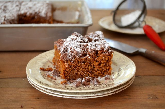 Gingerbread Coffee Cake | In Jennie's Kitchen