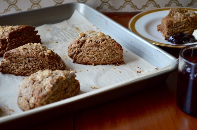 Gingerbread Scones | In Jennie's Kitchen