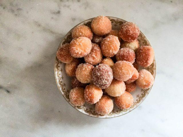 Homemade Doughnut Holes | In Jennie's Kitchen_