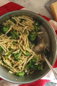 Charred Broccoli & Pasta | In Jennie's Kitchen
