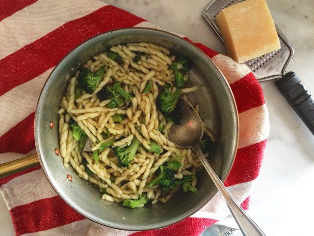 Charred Broccoli & Pasta   In Jennie's Kitchen