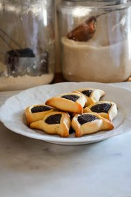Poppy Seed Hamantaschen | In Jennie's Kitchen