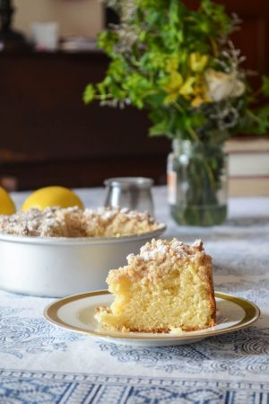Lemon Crumb Cake | In Jennie's Kitchen