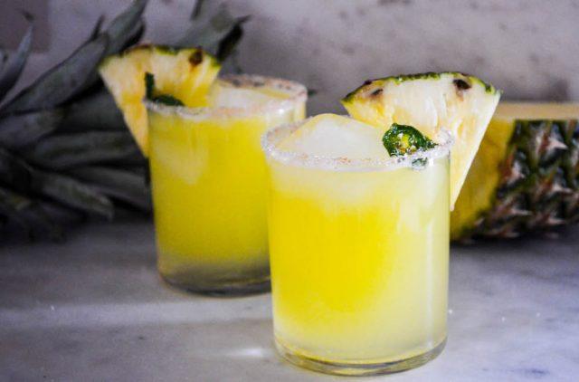 Jalapeno Pineapple Margarita   In Jennie's Kitchen