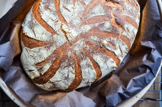 Pane Toscano Sourdough Tuscan Bread | In Jennie's Kitchen