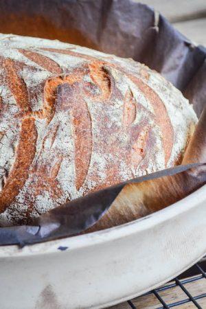 Pane Toscano Sourdough Tuscan Bread | In Jennie's Kitchen