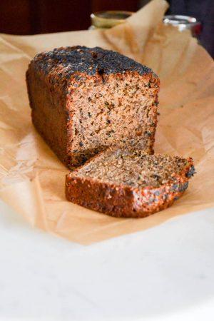 Tahini Buckwheat Banana Bread | In Jennie's Kitchen