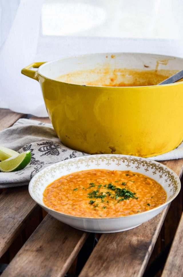 Thai Red Lentil Soup Recipe   In Jennie's Kitchen