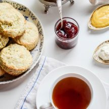 Mary Berry's Scones, a lemon poppy version