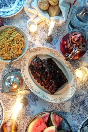 Slow Roasted Oven Ribs | In Jennie's Kitchen