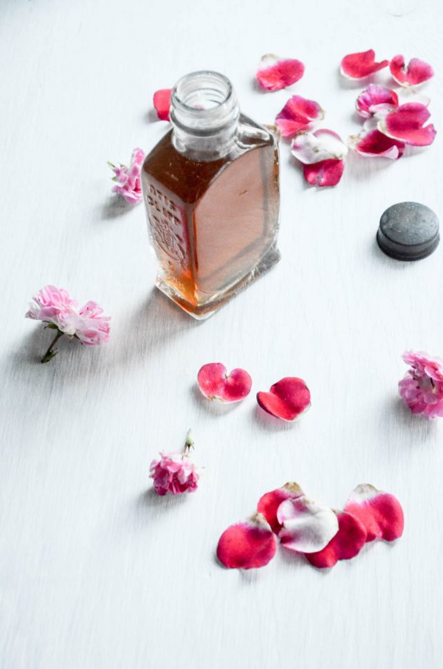 Homemade Rose Syrup | In Jennie's Kitchen