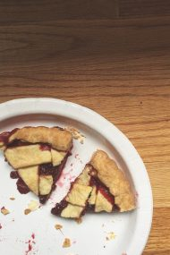 Raspberry Strawberry Crostata | In Jennie's Kitchen