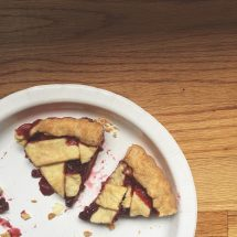 Raspberry Strawberry Crostata