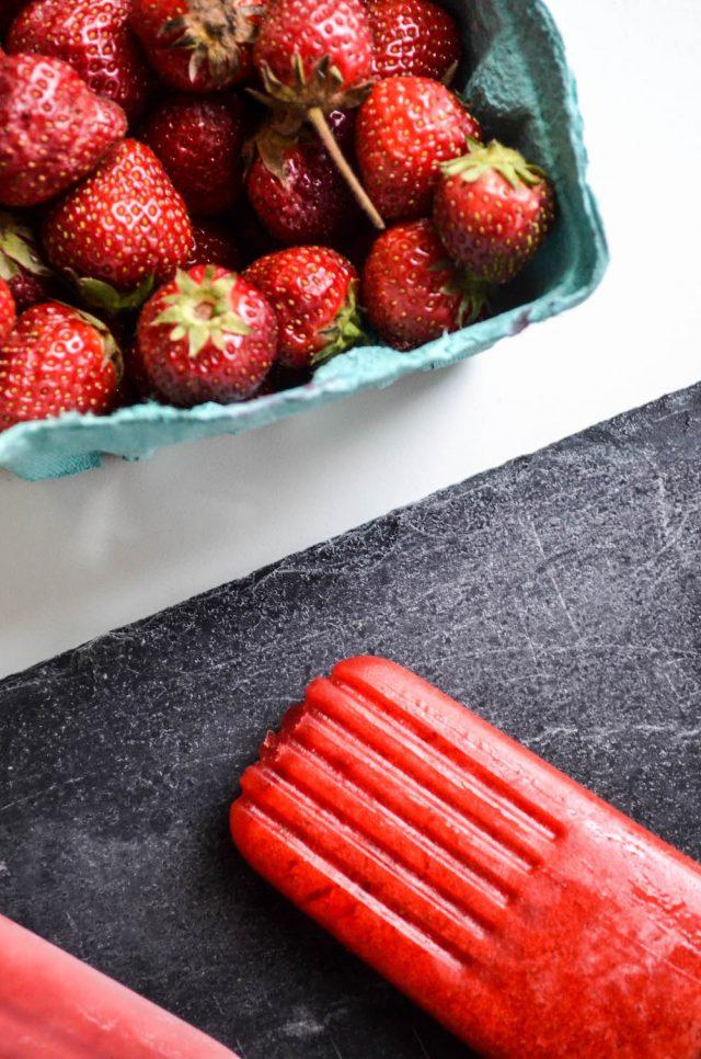 Strawberry Violet Popsicles   In Jennie's Kitchen