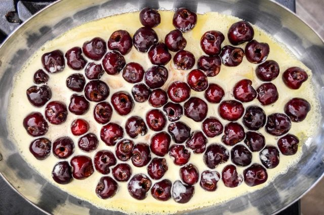 Cherry Clafoutis | In Jennie's Kitchen