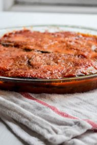 Eggplant Parmigiana | In Jennie's Kitchen