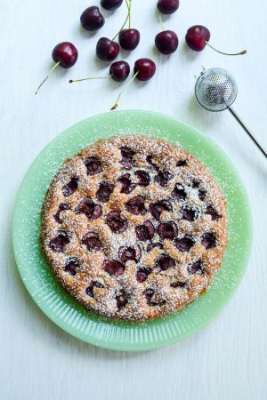 Summer Cherry Cake | In Jennie's Kitchen