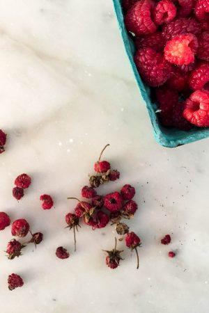 Sun-Dried Raspberries | In Jennie's Kitchen