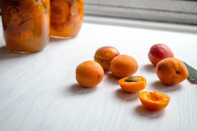 Apricots Honey, Thyme & Chamomile | In Jennie's Kitchen