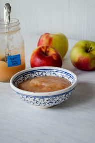 Homemade Applesauce | In Jennie's Kitchen