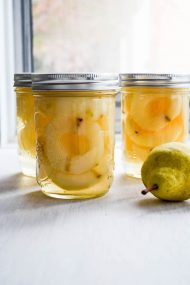 Homecanned Pears in Light Syrup | In Jennie's Kitchen