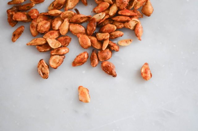 How to Toast Pumpkin Seeds | In Jennie's Kitchen