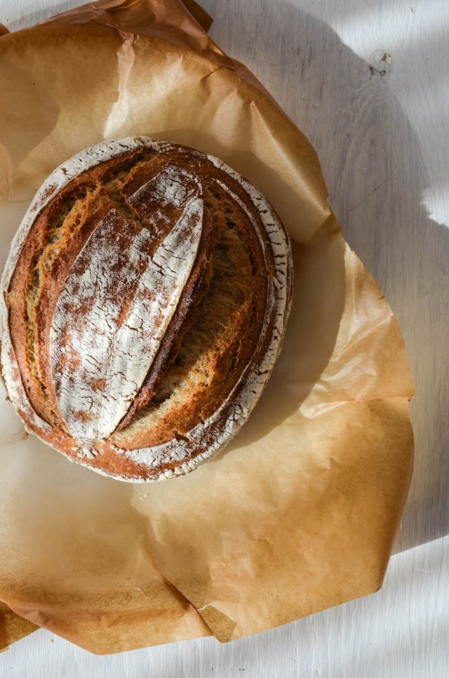 Rye Sourdough Boule | In Jennie's Kitchen