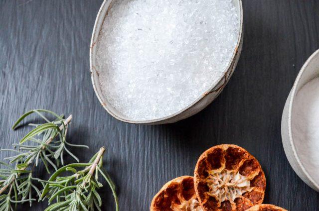 Homemade Citrus Herb Bath Salts   In Jennie's Kitchen