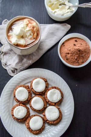 Hot Chocolate Cookie Recipe | In Jennie's Kitchen