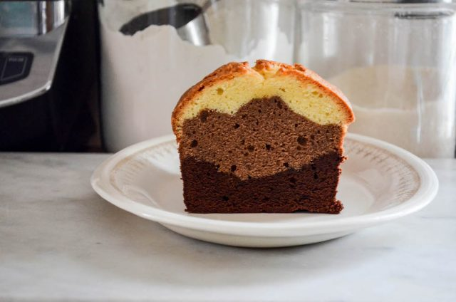 Martha Stewart's Triple Layer Poundcake | In Jennie's Kitchen