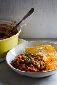 Smoky Corn & Bean Chili | In Jennie's Kitchen