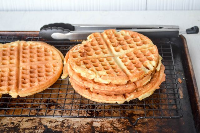 King Arthur's Sourdough Waffles | In Jennie's Kitchen