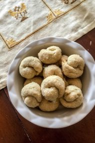 White Wine Cookies to Make a Wish On