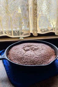One-Bowl Skillet Chocolate Cake