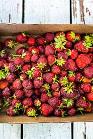 And just like that, it's strawberry season
